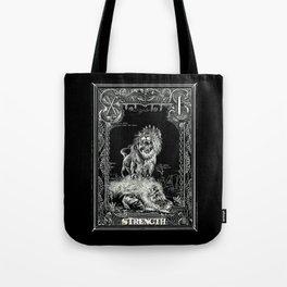 STRENGTH of Tarot Cat Tote Bag