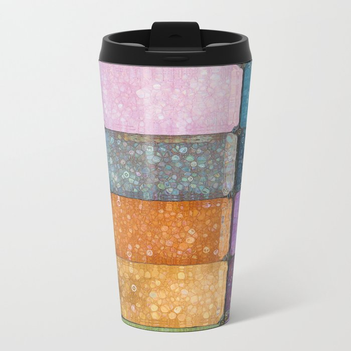 make-up colors Metal Travel Mug