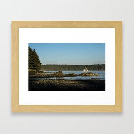 Alaskan Fisherman Framed Art Print