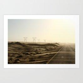 Power of the Dunes Art Print