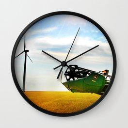 Combine Harvest Wall Clock
