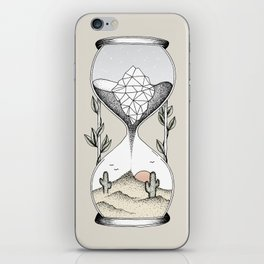 Time Is Running Out iPhone Skin