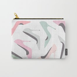 Shoe Love Fashion Illustration Carry-All Pouch