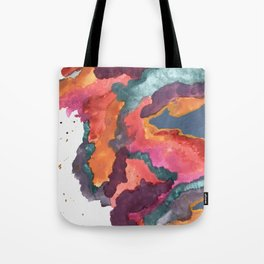 Carnival: a vibrant mixed media piece inspired by New Orleans Tote Bag