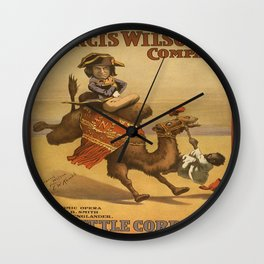 Vintage poster - The Little Corporal Wall Clock