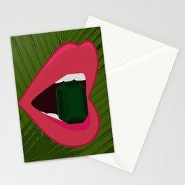 Emerald Palms Stationery Cards
