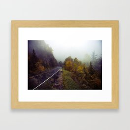 An Accidental Collision of Two Memories at Once Framed Art Print