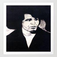 Godfather of Soul Art Print