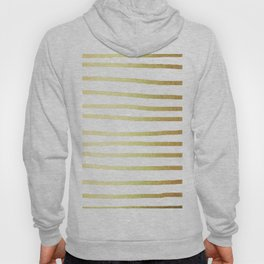 Simply Drawn Stripes 24k Gold Hoody