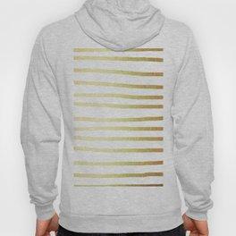 Simply Drawn Stripes 24k Gold Hoody