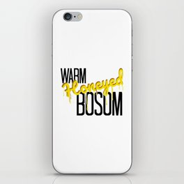 Warm Honeyed Bosom iPhone Skin