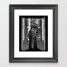The Monster's bride. Framed Art Print