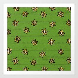 zuhur green Art Print