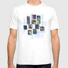 CDs MEDIUM White Mens Fitted Tee