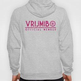 Vrijmibo in worn pink Hoody