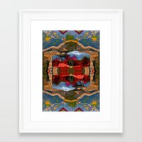 china Framed Art Prints featuring China. by Grant Pearce
