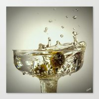 martini Canvas Prints featuring Martini by D & G Reflections