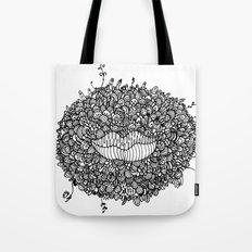 Mouthing Tote Bag