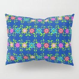 Pretty Flowers in a Row Pillow Sham