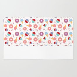 Donuts party Rug