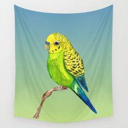 Cute budgie Wall Tapestry