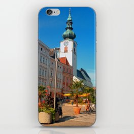 Summer in the city | architectural photography iPhone Skin