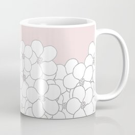 Forget Me Knot Pink Boarder Coffee Mug