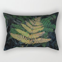 Moody Fern in Santa Cruz Forest Rectangular Pillow