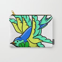 Swallow with lucky fo Carry-All Pouch