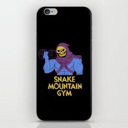 snake mountain gym iPhone Skin