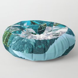 Misplaced Circle Floor Pillow