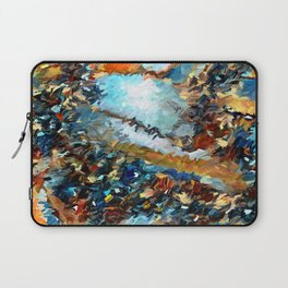 Agate Geode Abstract Laptop Sleeve