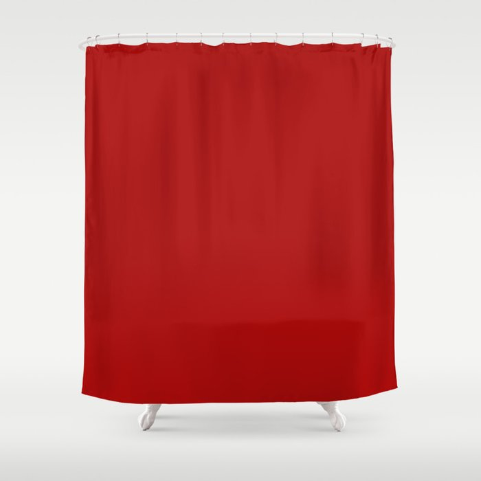 Juicy Cranberry Shower Curtain