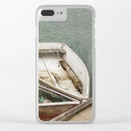 A Little Dinghy Clear iPhone Case