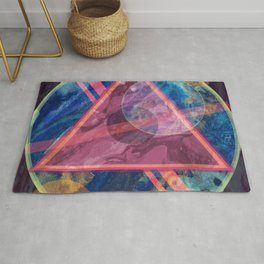 Mystic Astrology Geometry Rug
