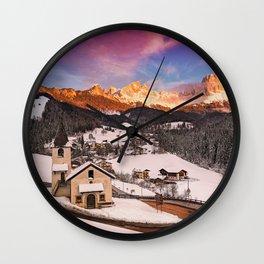 San Cipriano di Tires Wall Clock