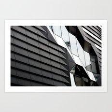 The New School Building Art Print