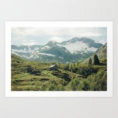 Norway VIII Art Print