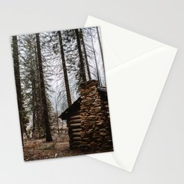 Mystic Log Cabin Stationery Cards