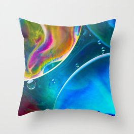 Bubbling Throw Pillow
