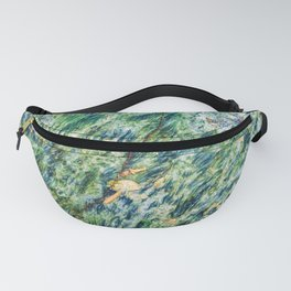Ocean Life Abstract Fanny Pack