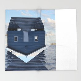 Down Under // Boatshed. Throw Blanket