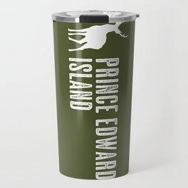 Deer: Prince Edward Island, Canada Travel Mug