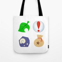 Animal Crossing Icons Tote Bag