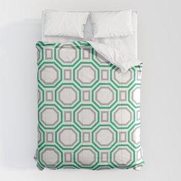 Green Harmony in Symmetry Comforters