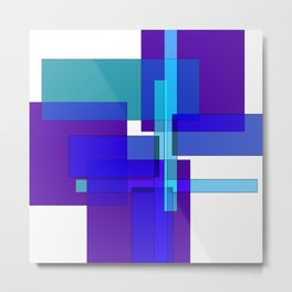Squares combined no. 2 Metal Print