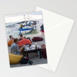 Malapascua Island, Cebu, Philippines Stationery Cards
