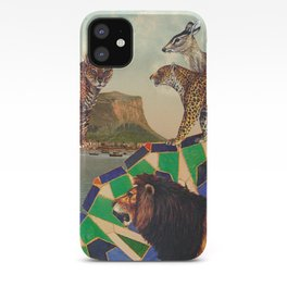 Searching all mountains high and seas blue iPhone Case