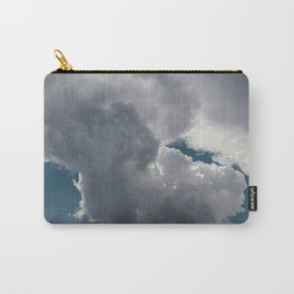 Clouds in the blue sky Carry-All Pouch