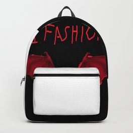 Bat wings with DI Fashion logo another DI Fashion goth line Backpack